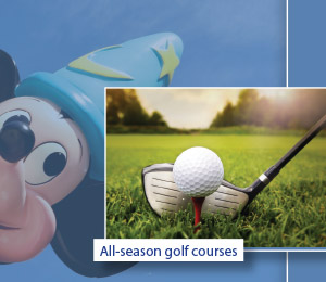 All-season golf courses
