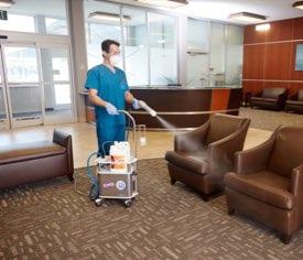 Nurse Cleaning